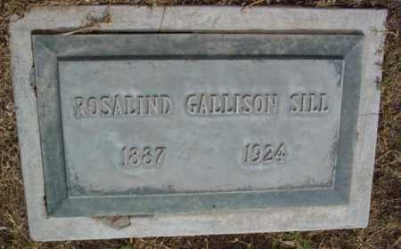 GALLISON SILL, ROSALIND - Yavapai County, Arizona | ROSALIND GALLISON SILL - Arizona Gravestone Photos