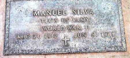 SILVA, MANUEL - Yavapai County, Arizona | MANUEL SILVA - Arizona Gravestone Photos