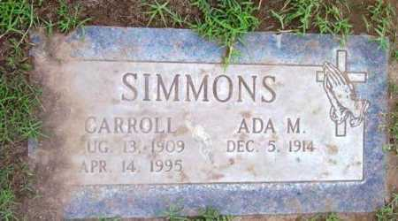 SIMMONS, ADA M. - Yavapai County, Arizona | ADA M. SIMMONS - Arizona Gravestone Photos