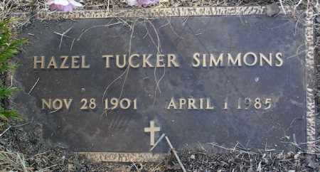 SIMMONS, HAZEL - Yavapai County, Arizona | HAZEL SIMMONS - Arizona Gravestone Photos