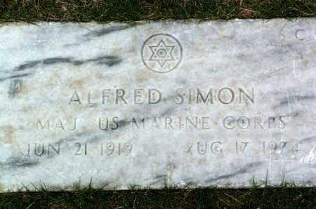 SIMON, ALFRED - Yavapai County, Arizona | ALFRED SIMON - Arizona Gravestone Photos