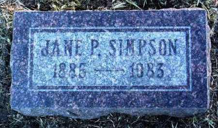 ALLRED PATTERSON, JANE - Yavapai County, Arizona | JANE ALLRED PATTERSON - Arizona Gravestone Photos
