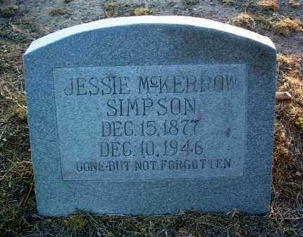 MCKERROW HAMILTON, J. - Yavapai County, Arizona | J. MCKERROW HAMILTON - Arizona Gravestone Photos