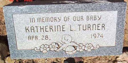 TURNER, KATHERINE LEE - Yavapai County, Arizona   KATHERINE LEE TURNER - Arizona Gravestone Photos