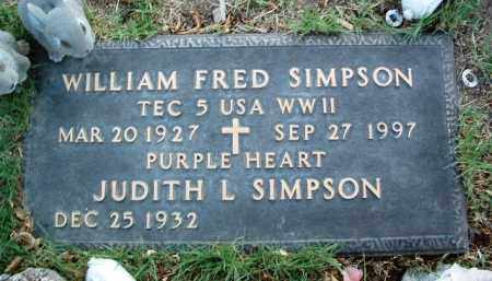 SIMPSON, JUDITH L. - Yavapai County, Arizona | JUDITH L. SIMPSON - Arizona Gravestone Photos
