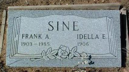 SINE, FRANK AUSTIN - Yavapai County, Arizona | FRANK AUSTIN SINE - Arizona Gravestone Photos