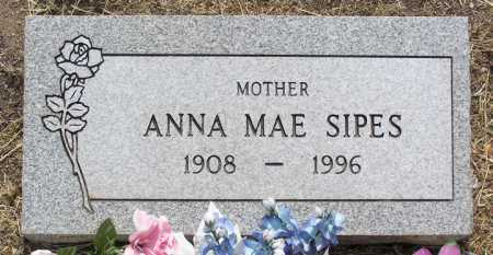 SIPES, ANNA MAE - Yavapai County, Arizona | ANNA MAE SIPES - Arizona Gravestone Photos