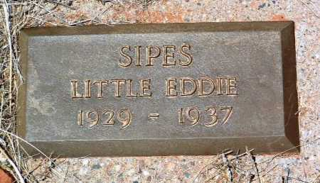 SIPES, EDDIE GAINES - Yavapai County, Arizona | EDDIE GAINES SIPES - Arizona Gravestone Photos