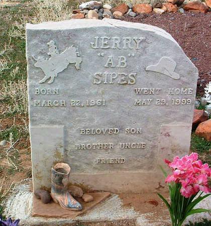 SIPES, JERRY - Yavapai County, Arizona | JERRY SIPES - Arizona Gravestone Photos