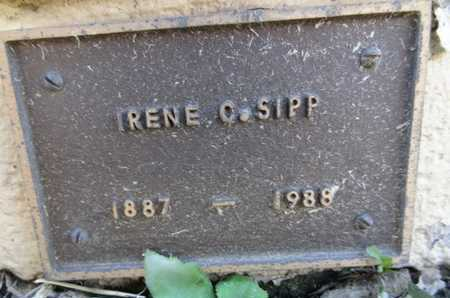 SIPP, IRENE C. - Yavapai County, Arizona | IRENE C. SIPP - Arizona Gravestone Photos