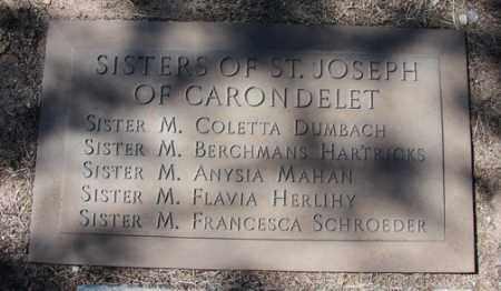 SISTERS, OF  ST. JOSEPH - Yavapai County, Arizona   OF  ST. JOSEPH SISTERS - Arizona Gravestone Photos