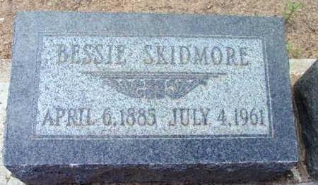 SKIDMORE, BESSIE - Yavapai County, Arizona | BESSIE SKIDMORE - Arizona Gravestone Photos