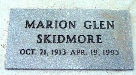 SKIDMORE, MARION GLEN - Yavapai County, Arizona | MARION GLEN SKIDMORE - Arizona Gravestone Photos
