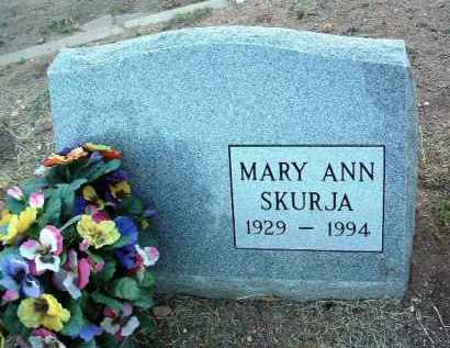 SCHUTZ SKURJA, MARY ANN - Yavapai County, Arizona | MARY ANN SCHUTZ SKURJA - Arizona Gravestone Photos