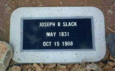 SLACK, JOSEPH R. - Yavapai County, Arizona   JOSEPH R. SLACK - Arizona Gravestone Photos