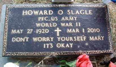 SLAGLE, HOWARD O. - Yavapai County, Arizona | HOWARD O. SLAGLE - Arizona Gravestone Photos