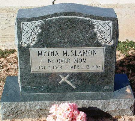 SLAMON, METHA M. - Yavapai County, Arizona | METHA M. SLAMON - Arizona Gravestone Photos