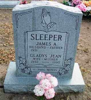 SLEEPER, JAMES A. - Yavapai County, Arizona | JAMES A. SLEEPER - Arizona Gravestone Photos