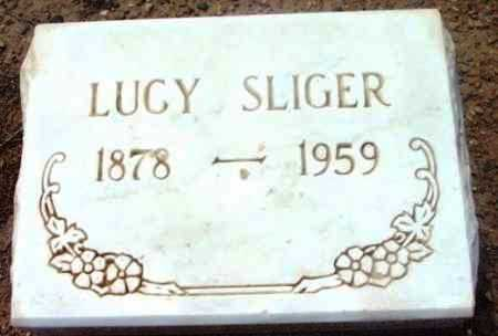 HILL SLIGER, LUCY - Yavapai County, Arizona   LUCY HILL SLIGER - Arizona Gravestone Photos
