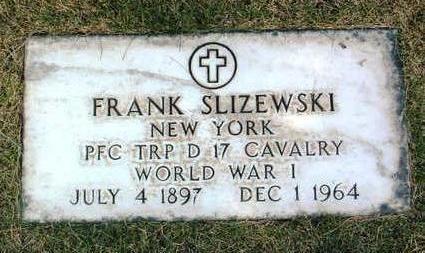 SLIZEWSKI, FRANK - Yavapai County, Arizona | FRANK SLIZEWSKI - Arizona Gravestone Photos