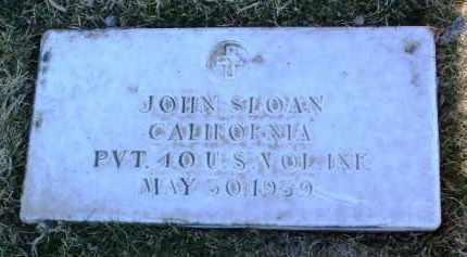 SLOAN, JOHN - Yavapai County, Arizona | JOHN SLOAN - Arizona Gravestone Photos