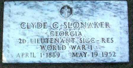 SLONAKER, CLYDE C. - Yavapai County, Arizona   CLYDE C. SLONAKER - Arizona Gravestone Photos