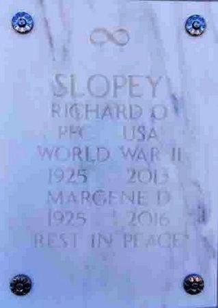 SLOPEY, MARGENE DELORES - Yavapai County, Arizona | MARGENE DELORES SLOPEY - Arizona Gravestone Photos