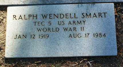 SMART, RALPH WENDELL CECIL - Yavapai County, Arizona   RALPH WENDELL CECIL SMART - Arizona Gravestone Photos