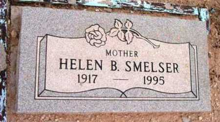 SMELSER, HELEN B. - Yavapai County, Arizona | HELEN B. SMELSER - Arizona Gravestone Photos