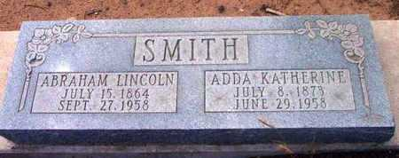 SMITH, ABRAHAM LINCOLN - Yavapai County, Arizona | ABRAHAM LINCOLN SMITH - Arizona Gravestone Photos