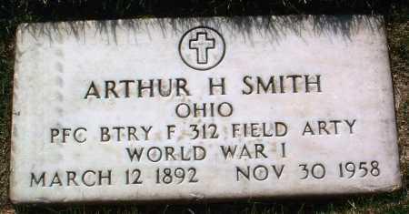 SMITH, ARTHUR H. - Yavapai County, Arizona | ARTHUR H. SMITH - Arizona Gravestone Photos