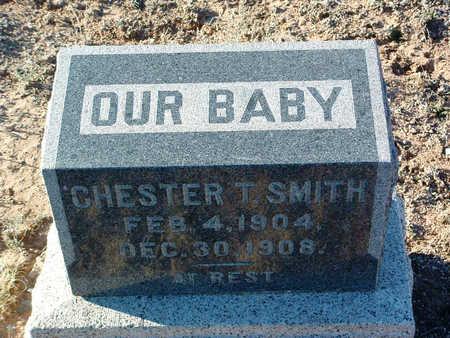 SMITH, CHESTER T. - Yavapai County, Arizona | CHESTER T. SMITH - Arizona Gravestone Photos