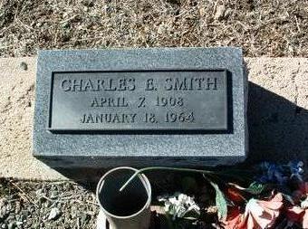 SMITH, CHARLES E. - Yavapai County, Arizona | CHARLES E. SMITH - Arizona Gravestone Photos