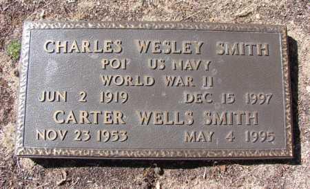 SMITH, CHARLES WESLEY - Yavapai County, Arizona   CHARLES WESLEY SMITH - Arizona Gravestone Photos