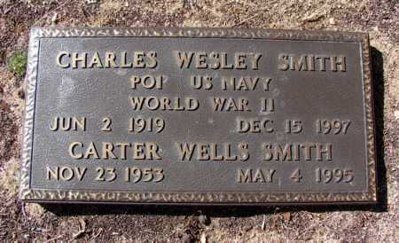 SMITH, CARTER WELLS - Yavapai County, Arizona | CARTER WELLS SMITH - Arizona Gravestone Photos