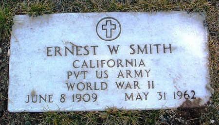 SMITH, ERNEST W. - Yavapai County, Arizona   ERNEST W. SMITH - Arizona Gravestone Photos