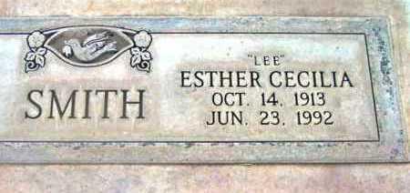 SMITH, ESTHER CECILIA  (LEE) - Yavapai County, Arizona | ESTHER CECILIA  (LEE) SMITH - Arizona Gravestone Photos