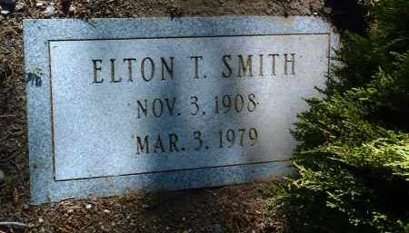SMITH, ELTON TAFT - Yavapai County, Arizona | ELTON TAFT SMITH - Arizona Gravestone Photos