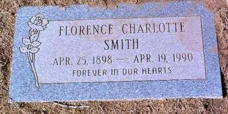 SMITH, FLORENCE CHARLOTTE - Yavapai County, Arizona   FLORENCE CHARLOTTE SMITH - Arizona Gravestone Photos