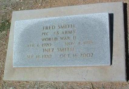 SMITH, FRED - Yavapai County, Arizona   FRED SMITH - Arizona Gravestone Photos