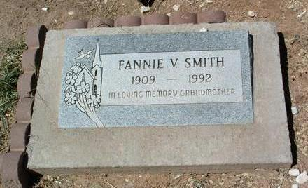 SMITH, FANNIE V. - Yavapai County, Arizona | FANNIE V. SMITH - Arizona Gravestone Photos