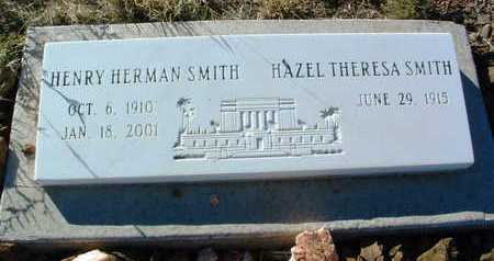 SMITH, HAZEL THERESA - Yavapai County, Arizona | HAZEL THERESA SMITH - Arizona Gravestone Photos