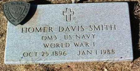 SMITH, HOMER DAVIS - Yavapai County, Arizona | HOMER DAVIS SMITH - Arizona Gravestone Photos