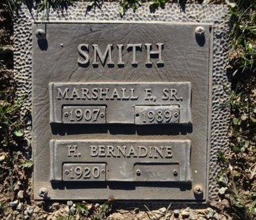 SMITH, H. BERNADINE - Yavapai County, Arizona | H. BERNADINE SMITH - Arizona Gravestone Photos