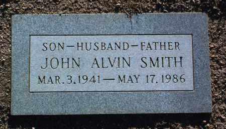 SMITH, JOHN ALVIN - Yavapai County, Arizona | JOHN ALVIN SMITH - Arizona Gravestone Photos