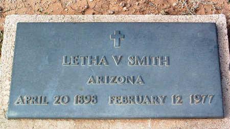SMITH, LETHA V. - Yavapai County, Arizona | LETHA V. SMITH - Arizona Gravestone Photos