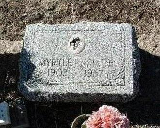 LEWIS SMITH, MYRTLE U. - Yavapai County, Arizona | MYRTLE U. LEWIS SMITH - Arizona Gravestone Photos