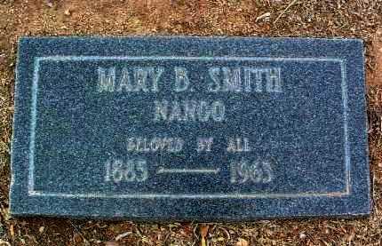 SMITH, MARY B. - Yavapai County, Arizona | MARY B. SMITH - Arizona Gravestone Photos