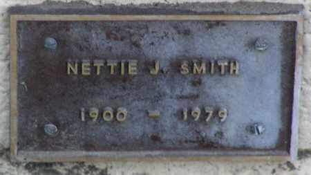 SMITH, NETTIE J. - Yavapai County, Arizona   NETTIE J. SMITH - Arizona Gravestone Photos