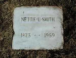 SMITH, NETTIE U. - Yavapai County, Arizona   NETTIE U. SMITH - Arizona Gravestone Photos